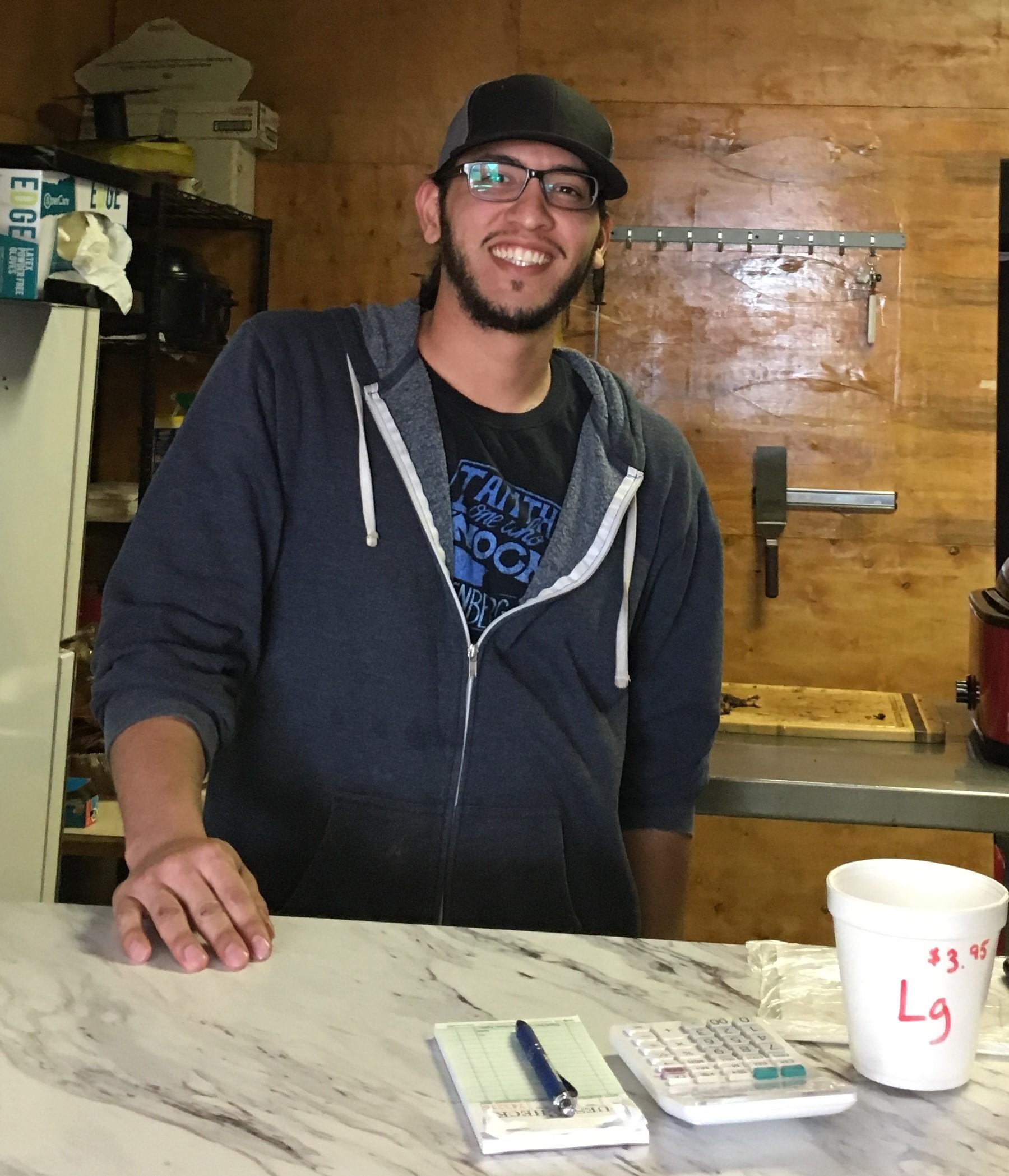 Zak Enriquez, owner of Smokehouse BBQ