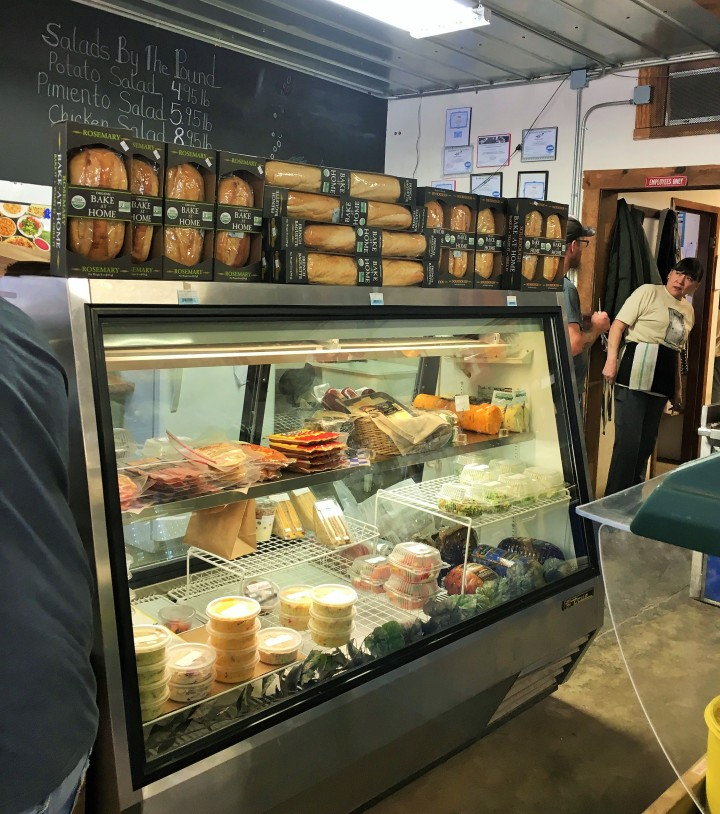 Grab and go salads and sides, deli meats and cheeses and par-baked sourdough breads are now available.