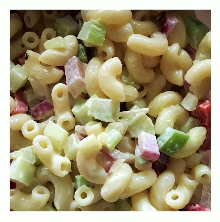 Stone Village Macaroni Salad... always a winner.