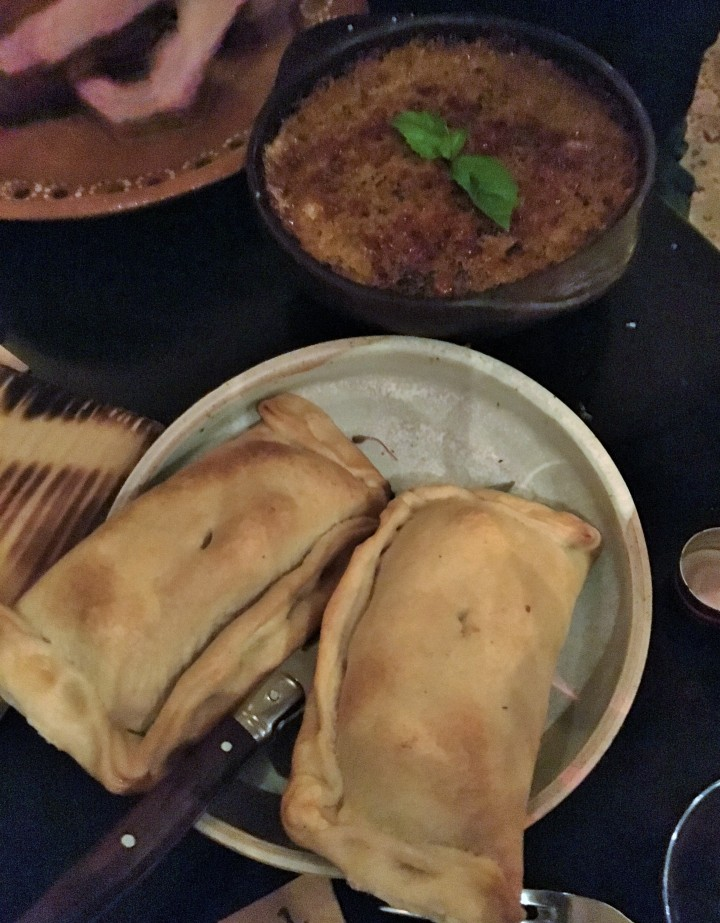 Empanadas and Pastel de Choclo