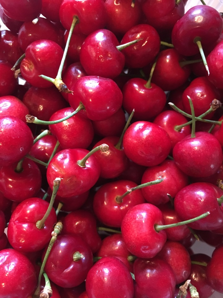 Sometimes, ife is like a bowl of cherries... tart cherries from California.