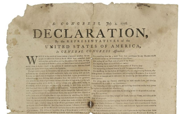 snippet of declaration