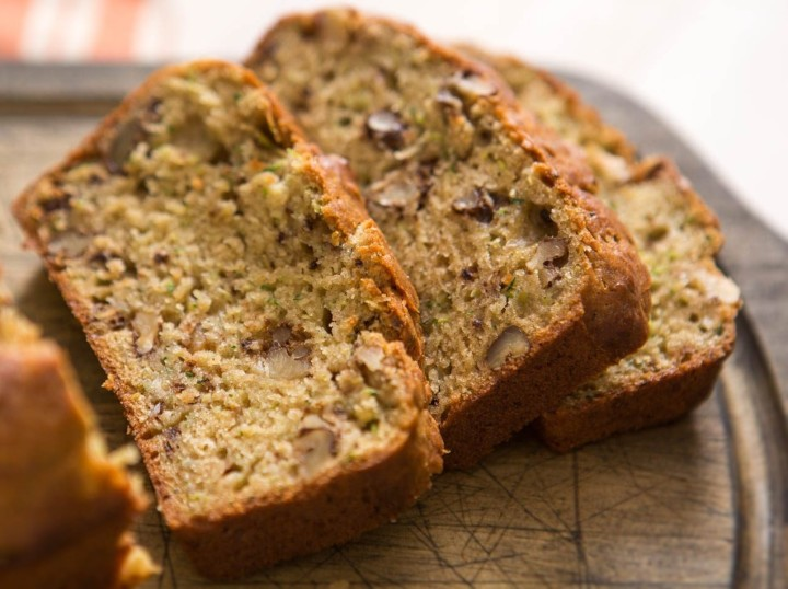 Zucchini bread - the stealthy, healthy, sweet and tasty way to eat zucchini